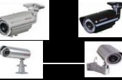 מגוון מצלמות צינור